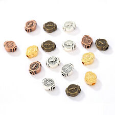 Alloy European Beads Cross Spacer Beads for Religious Bracelet Jewelry Finding F