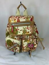 NWT Lily Bloom Tan/Green FOREST OWL Riley ECO Backpack