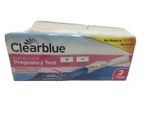 Clearblue Digital Pregnancy Test 2 Count EXP: 7/31/2021