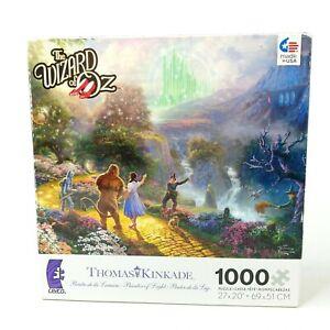"Ceaco Thomas Kinkade The Wizard of Oz 1000 Piece Jigsaw Puzzle 27"" x 20"" USA"