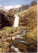 Wales: Waterfall at Blaen-y-Glyn, Torpantau, Powys - Posted 1979