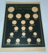 20th Century Type Coins 8 x 10 Custom Holder for a Picture Frame