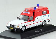 Volvo 264 Krankenwagen Ambulanz Rotes Kreuz 1:43 Atlas Modellauto 06