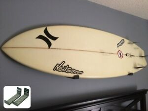 Surfboard Wall Rack Set Pair -  Can Hold Shortboards & Longboards