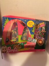 Barbie Sisters Camp Out Tent Gift set NRFB  Stacie Doll Tent Complete Set