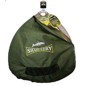 Dinsmores Shake 'N' Dry Rubber Mesh Landing Net 24in (60cm) with Zipped Bag
