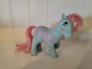 Vintage Mommy Sweet Celebration G1 1984 Hasbro My Little Blue Pony Pink Hair Vtg