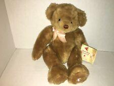 Susan Teddy Bear By Dakin BREAST CANCER Bears For A Cause Komen Pink Ribbon
