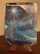 Frozen Steelbook (4K UHD/Blu-ray/Digital, 2013, Disney) Factory Sealed