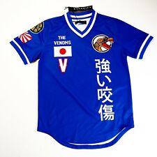 Eternity mens 100% authenitc S/S jersey shirt size large blue logo Japan