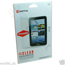 Griffin TotalGuard Clear Screen Protector/Guard for Samsung Galaxy Tab 2 7.0 NEW