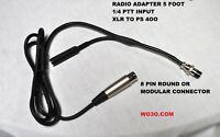 XLR  MIC Adapter for Icom kenwood and Yaesu radios