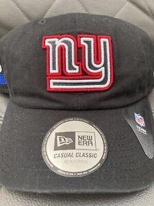 New Era Cap NY Giants NFL20 Draft Official OSFM Snapback Cap Black Big Blue