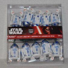 A Very Merry Star Wars Christmas Kurt S. Adler 10-Light Star Wars R2D2 Light Set