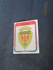 OGC NICE  Ecusson image sticker N° 197  FOOTBALL 87 PANINI 1987 BRILLANT