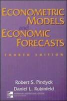 Econometric Models and Economic Forecasts - Paperback By Robert Pindyck - GOOD