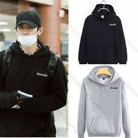 Kpop EXO Chanyeol Airport Fashion Cap Hoodie Sweater Unisex Coat Sweatershirt