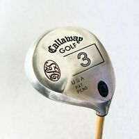 Callaway S2H2 3-Wood. Stiff - Good Condition # 10246