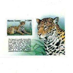 VINTAGE CLASSICS - Sierra Leone 1655 - Animals - Souvenir Sheet - MNH