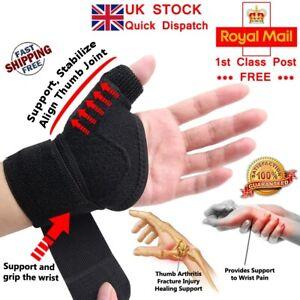 LTG PRO® Neoprene Thumb & Wrist Support Hand Brace Splint Arthritis Stabiliser