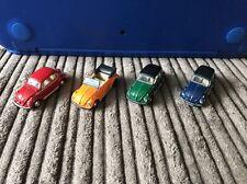 VW Beetle 1/76 OO Gauge Diecast Lot (Very Detailed)