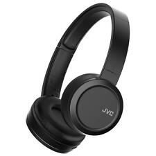 JVC HAS50BT/BLACK Superior Sound Bluetooth on Ear Headphones w/ Built-in Battery