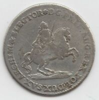 Münze 2 Groschen Doppelgroschen 1742 Sachsen Vikariat Friedrich August II.