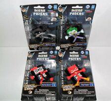 KAWAii CUBES DC MICRO POSERS SERIES 1 SET OF (4) BATMAN,HARLEY QUINN,JOKER,FLASH