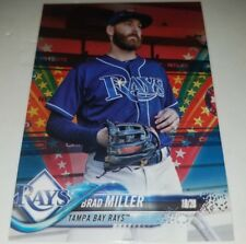 2018 TOPPS BRAD MILLER #478 INDEPENDENCE DAY PARALLEL CARD #D 72/76