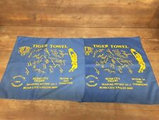 Rush City Tigers Basketball Champions Tiger Towel 1989 Minnesota