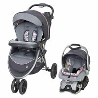 Baby Trend Sky View Plus Folding Infant Carseat Stroller Travel System(Open Box)