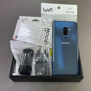 Samsung Galaxy S9+ BLUE SM-G965N 256GB Unlocked Single sim Screen Burn-in