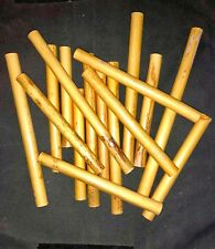 English horn cane in tubes - imported - 12.0 to 12.5 mm - sold by  1/2  lbs lot