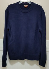 MICHEAL KORS Navy Blue Knit Sweater Mens XXL Crew Neck Warm Winter Pullover