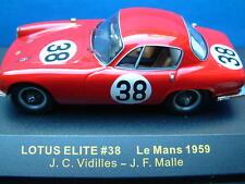 IXO LMC069-Lotus Elite-Le Mans 1959-Coche 38-Vidilles/Malle-Nuevo
