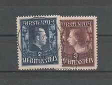Liechtenstein Nr. 304, 305 A gest.