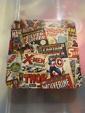 Marvel Comics Mens Wallet Slim Fold Genuine Leather in Box