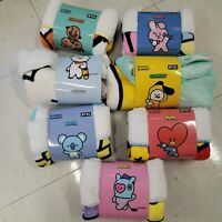 BTS BT21 Official Authentic Goods FLANNEL BLANKET LINEFRIENDS