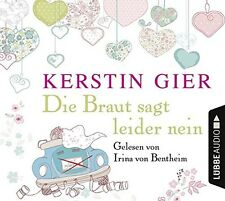 KERSTIN GIER - DIE BRAUT SAGT LEIDER NEIN  4 CD NEU