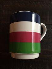 KATE SPADE NEW YORK BY LENOX ALL IN GOOD TASTE STRIPE 12 OZ MUGS / COFFEE CUP