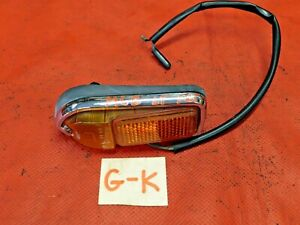 MGB, MGB GT, MG, Lucas Left Front Amber Side Marker Light, Original, !!