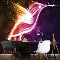 Wandtattoo Kolibris Punkte fluoreszierend Kolibri Vögel Vogel Sterne Stern M886