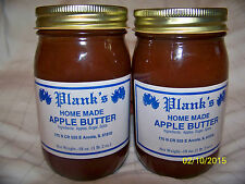 Apple Butter Home Made Amish Country Planks Apple Butter 2 Jars 18 oz. ea