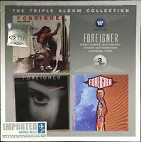 FOREIGNER The Triple Album Collection MALAYSIA / EU DIGIPAK 3 CD NEW FREE SHIP