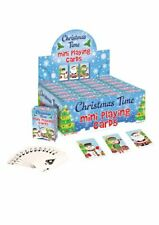 6 Christmas Miniature Playing Card Sets - Toy Stocking Bag Filler Childrens/Kids