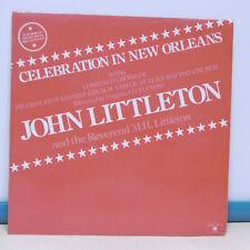 """33T John LITTLETON Vinyl LP 12"""" CELEBRATION IN NEW ORLEANS - AUVIDIS 4905 RARE"""