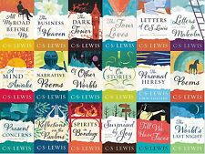 CS Lewis Series Collection Set Books 1-18 Large Trade Paperback By C. S. Lewis