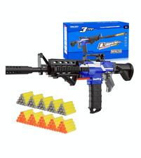 FULLY AUTOMATIC Nerf Gun Compatible M4 M16 Foam Dart Guns Boy's Toy Gun Blaster