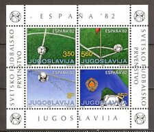 Joegoslavije - 1982 - Mi. Blok 20 (Voetbal) - Postfris - VF903