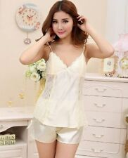 Satin Unbranded Short Pyjama Sets for Women